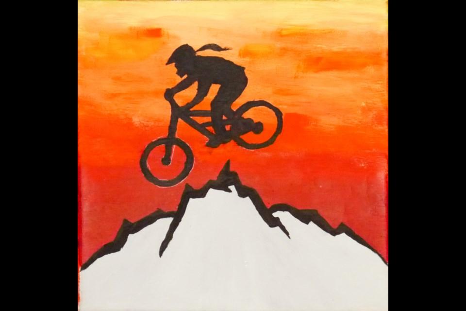 Riding into the Horizon, Juliet Twemlow, Grade 7, Juniper Ridge elementary.