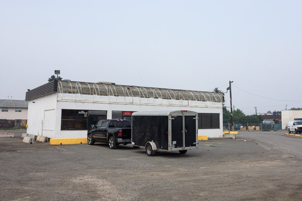 This vacant, privately owned former liquor store property at 346 Campbell Ave., behind the Northbridge Hotel on Tranquille Road in North Kamloops, is intended to be used as the Envision day space for the city's homeless population.