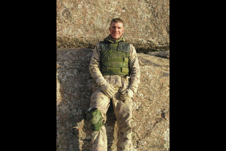 Cpl. Andrew (Boomer) Eykelenboom, a medic from Comox, was 23 when he died in Afghanistan on Aug. 11, 2006. FAMILY PHOTO