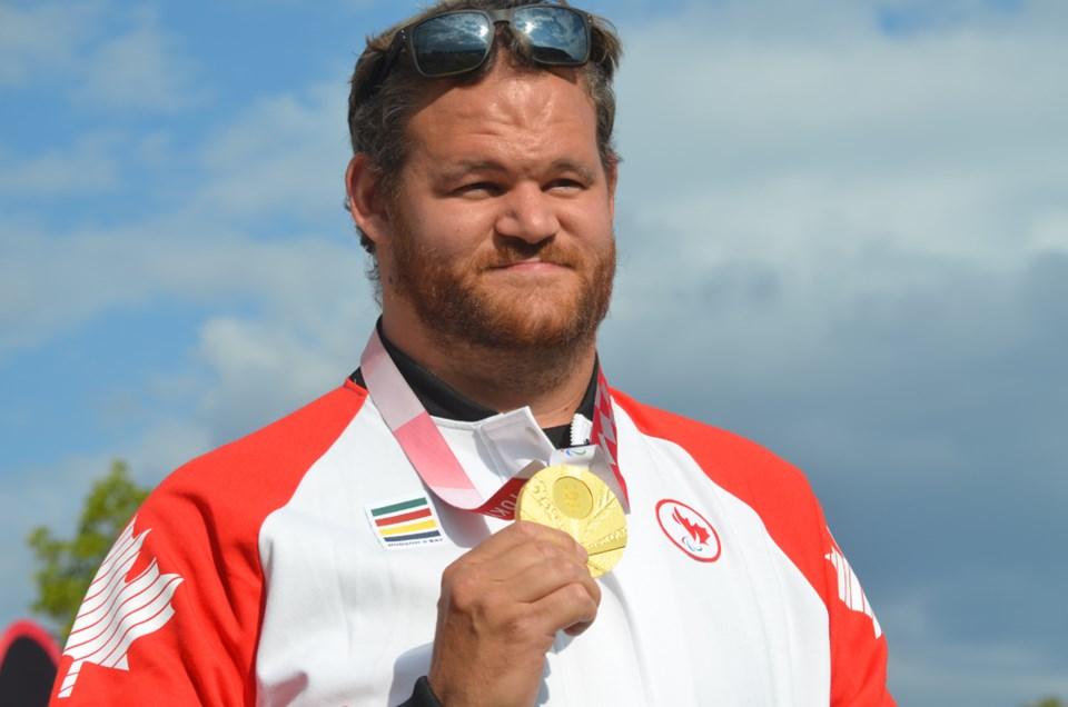 Greg Stewart gold medal