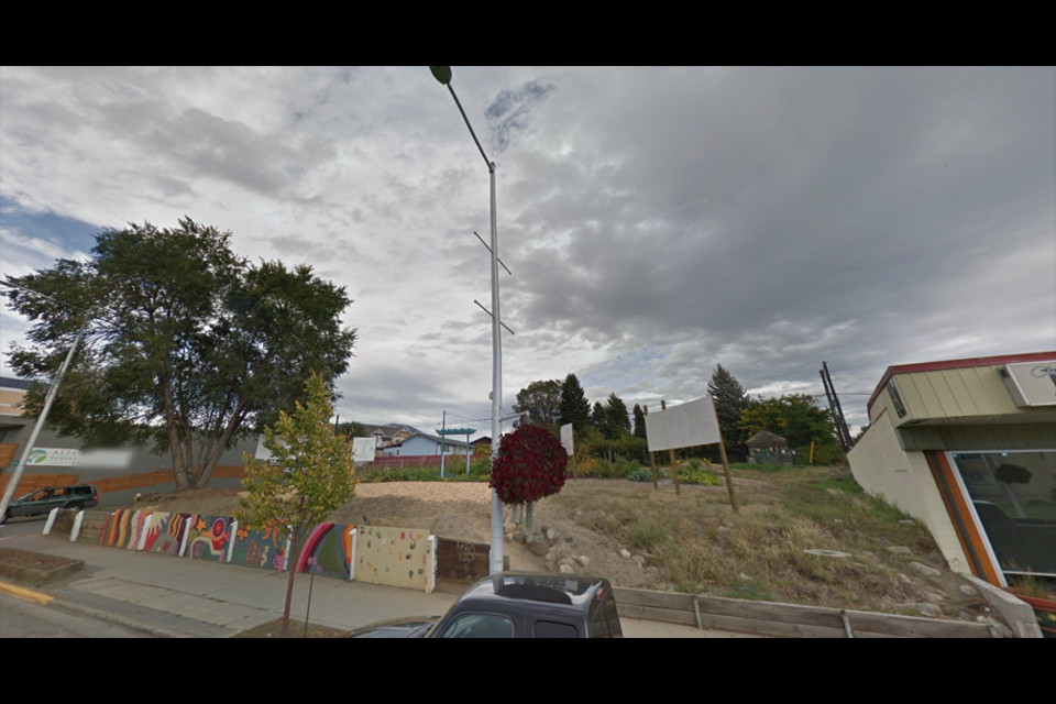 Katherine's Place will be build on these two vacant lots in North Kamloops — at 560 and 562 Tranquille Rd.