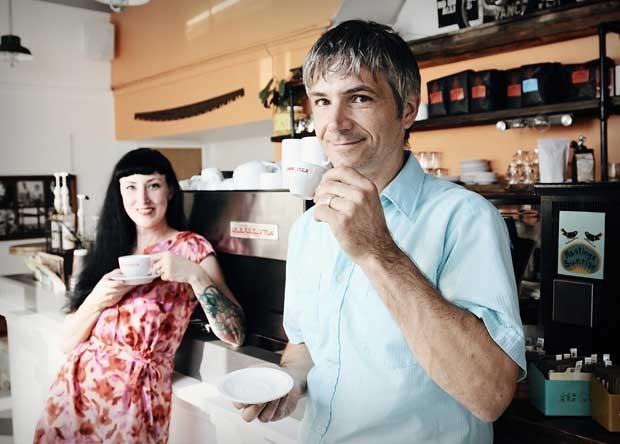 Cafe's Dalyn and Zoltan Szilvassy
