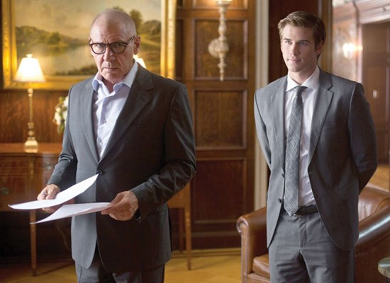 Harrison Ford and Liam Hemsworth