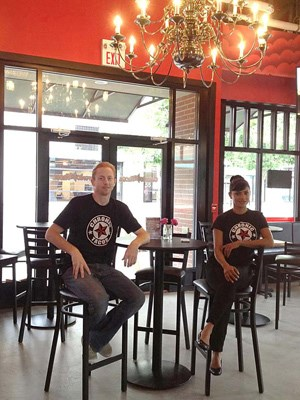 Will and Shimi Davis, owners of Chronic Tacos' New Westminster location
