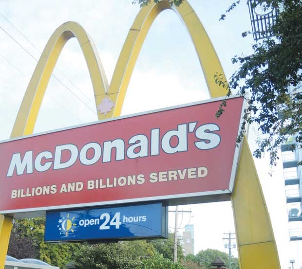 McDonald's on No. 3 Road and Granville Avenue has been accused of discrimination.