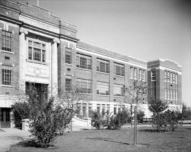 Lord Byng High School as it looked in 1936.