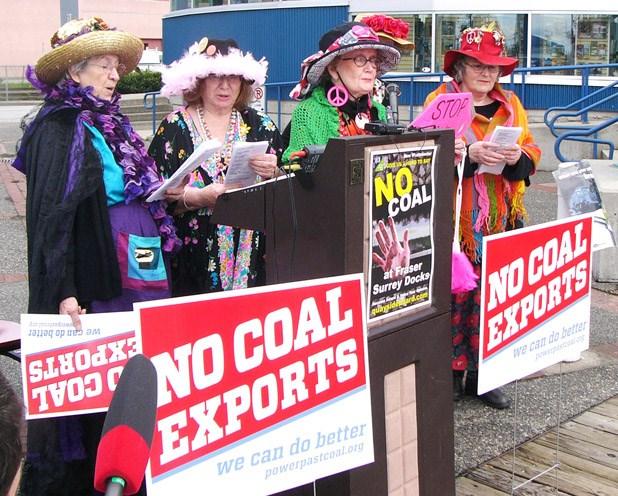 Fraser Surrey Docks coal