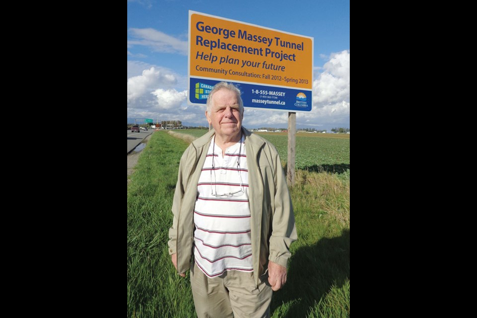 Doug Massey, son of George Massey, says the provincial government is disregarding the public's wishes by replacing the tunnel. He says he supports a new crossing, but believes the tunnel should be maintained.