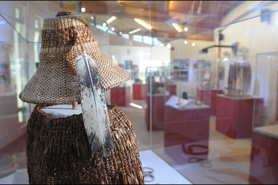 The first exhibit in the gallery, which runs now through February 2014, is called Baskets for Barter and features cedar artifacts, including contemporary works to artifacts more than 1,000-years old. Photo: Dan Toulgoet