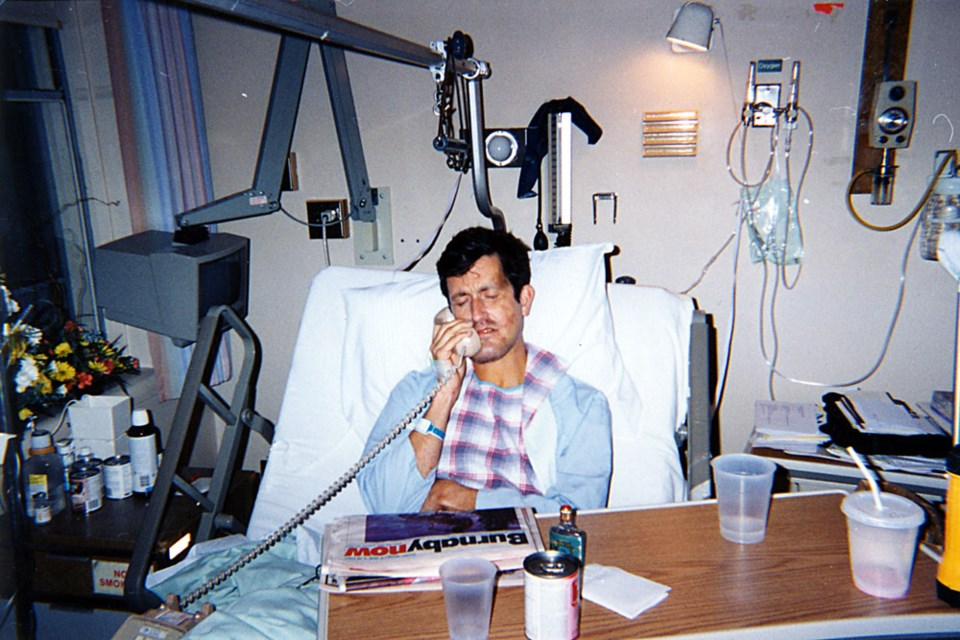 In 1997, former Burnaby MP Svend Robinson took an 18-metre fall off a cliff while hiking on Galiano Island and was nearly left for dead. He spent two weeks in hospital, recovering from a shattered jaw.