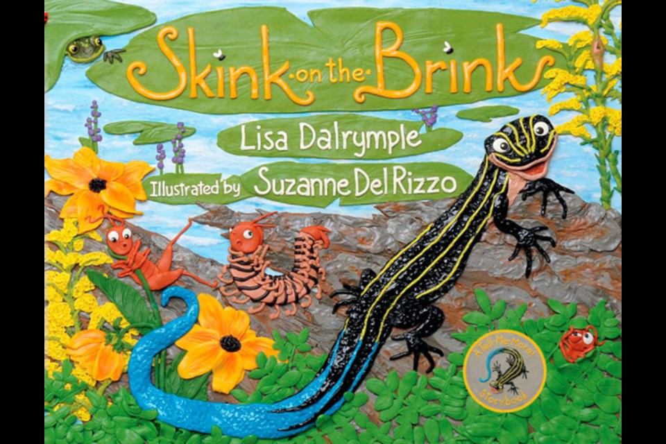 Skink on the Brink, by Lisa Dalrymple, is a brightly illustrated, cheerful tale for young readers.