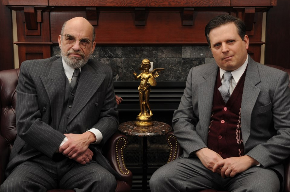 richard Newman, Damon Calderwood, Freud's Last Session