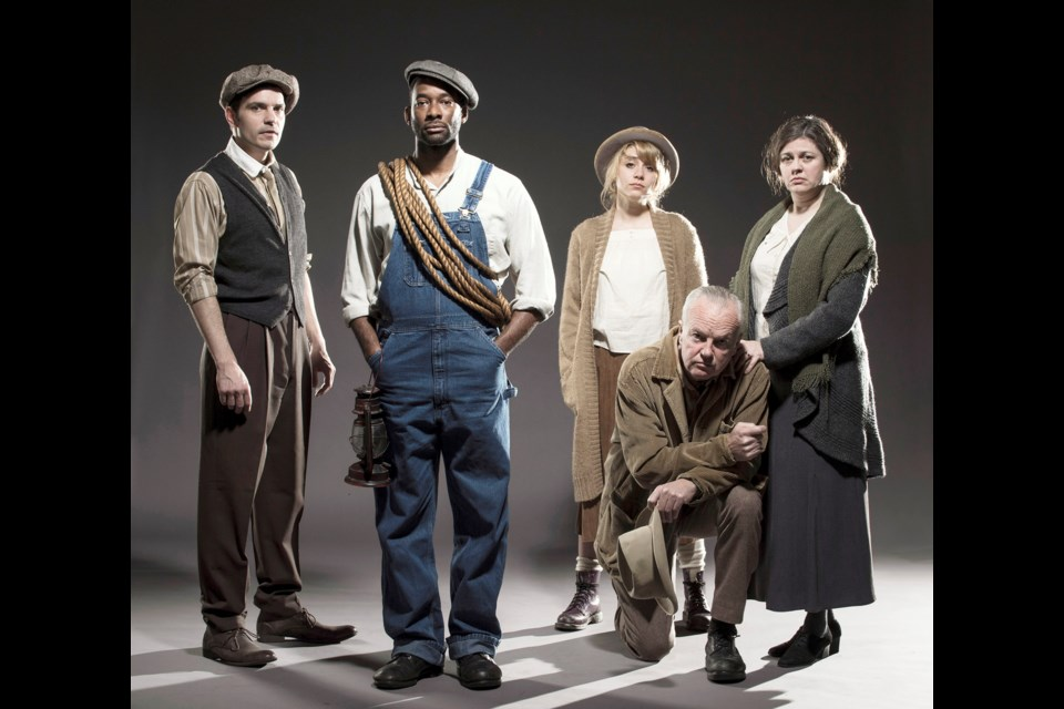 Set in Kentucky circa 1925, Adam Guettel's musical Floyd Collins follows the real-life events surrounding its titular character who gets trapped 200 feet underground in the process of turning a cave into a tourist attraction. It all goes down — get it? — March 11 to 30 at the York Theatre. Tickets and info at thecultch.com.