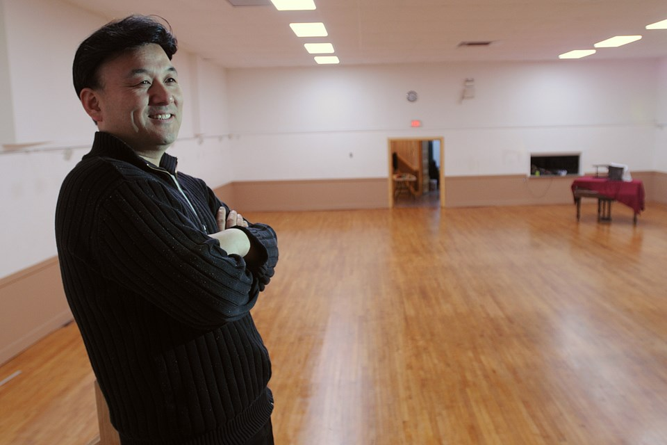 James Lee stands inside the newly renovated Korean community centre on East Hastings Street. Photo: Dan Toulgoet