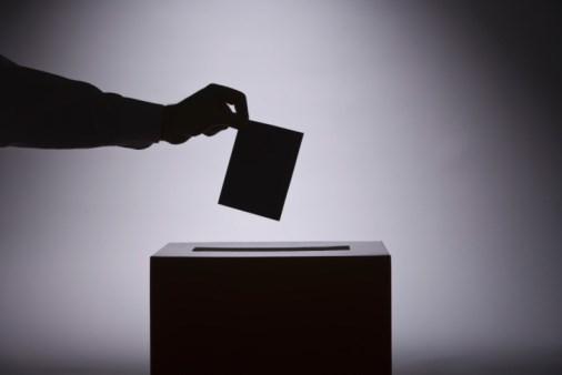Ballot box voting election photo generic