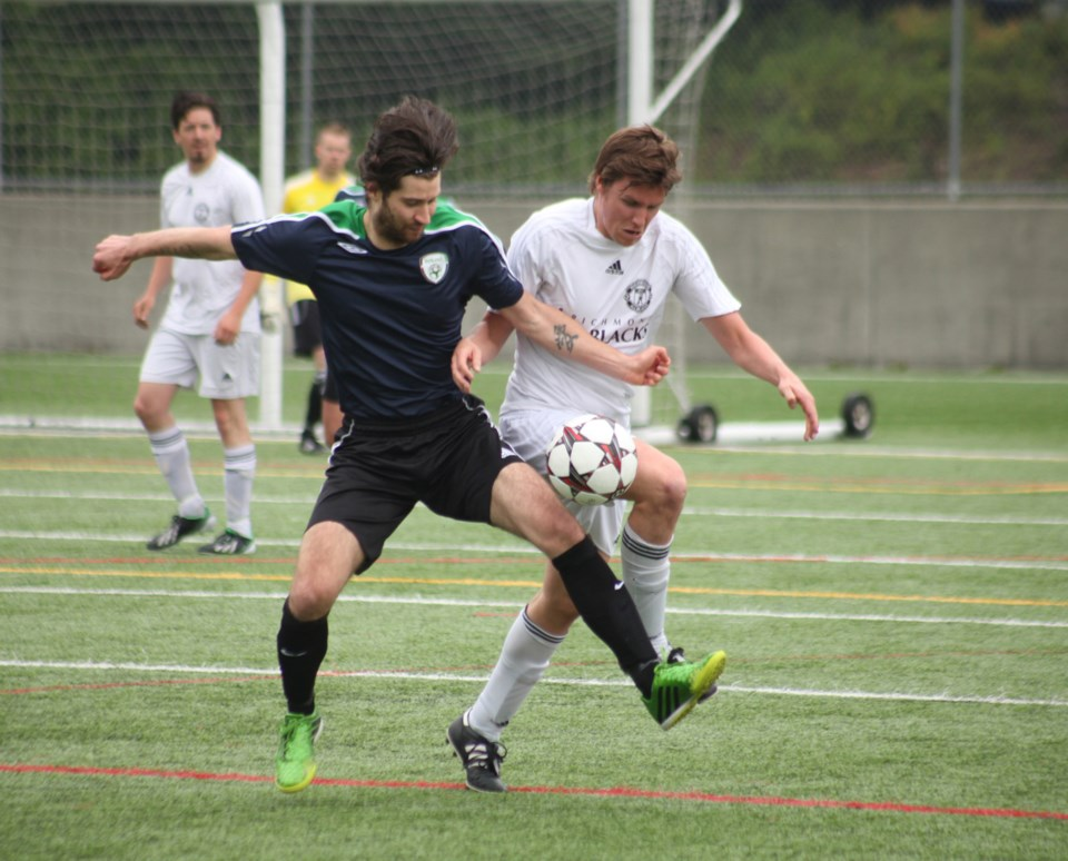 Burnaby mens soccer