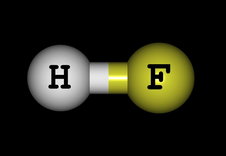 fluoride molecule