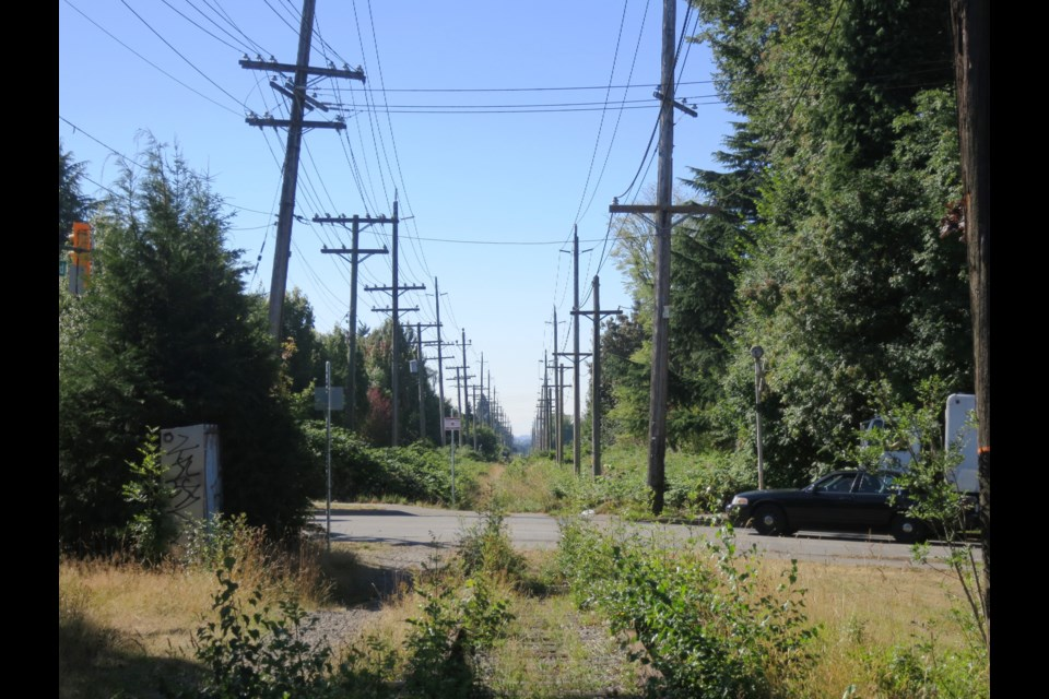 Portions of the Arbutus Corridor lend themselves to future redevelopment which could help fund future transit. Photo Michael Geller