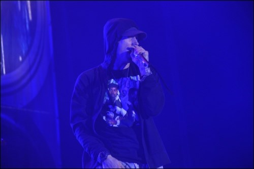 Eminem closes the Tantalus Stage