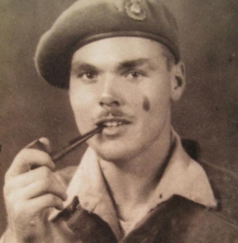 Bert Merrett served as a commando in Yugoslavia and Italy during the Second World War. Photo courtesy Valerie Merrett