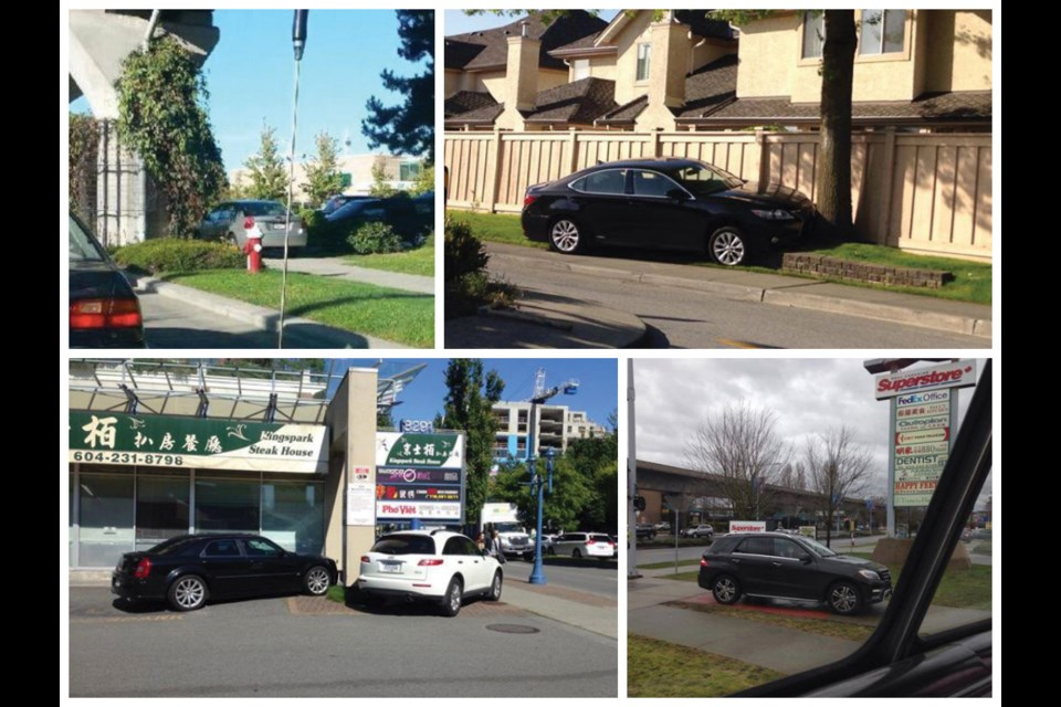 The Facebook group, Richmond Learns to Park, has compiled an array of photos that has helped solidify Richmond's reputation of being the land of bad drivers.