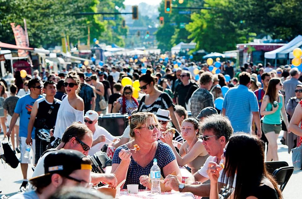 Columbia StrEAT Food Truck Festival