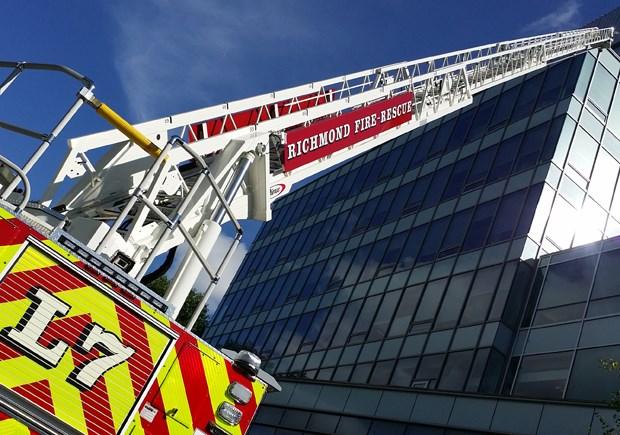 new fire truck ladder