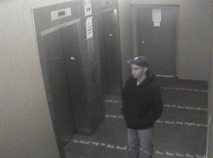 New Westminster police are looking to identify the man seen in this surveillance image.
