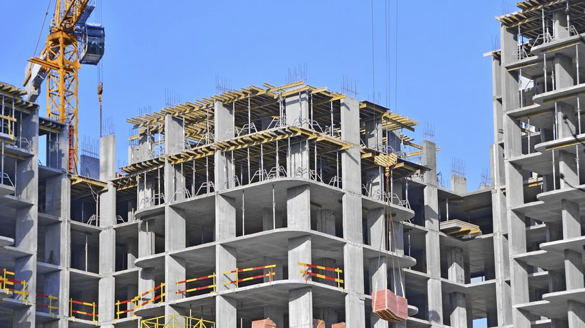 Condo apartment building construction permits