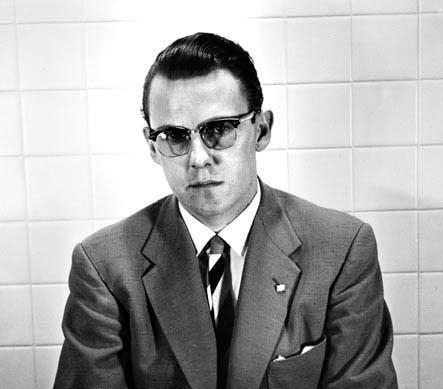 Joe Corbett's 1960 booking mug. Photo: Douglas County History Research Center