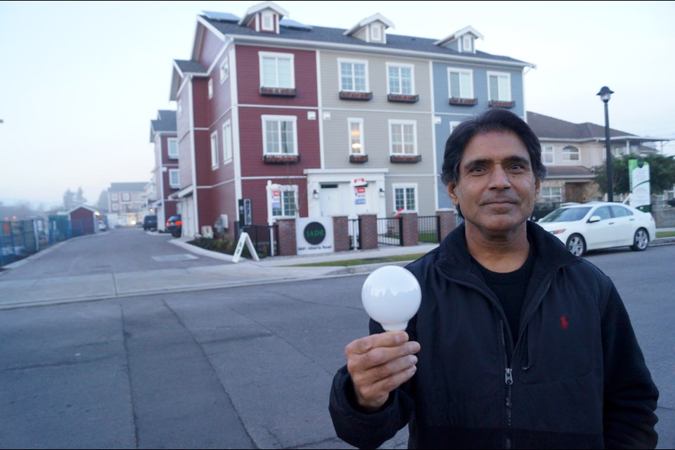 Richmond home developer Charan Sethi says it isn't much of a burden to add solar panels to developments. In fact, if done on a large scale, costs go down, making the sustainable source far more fiscally sound.