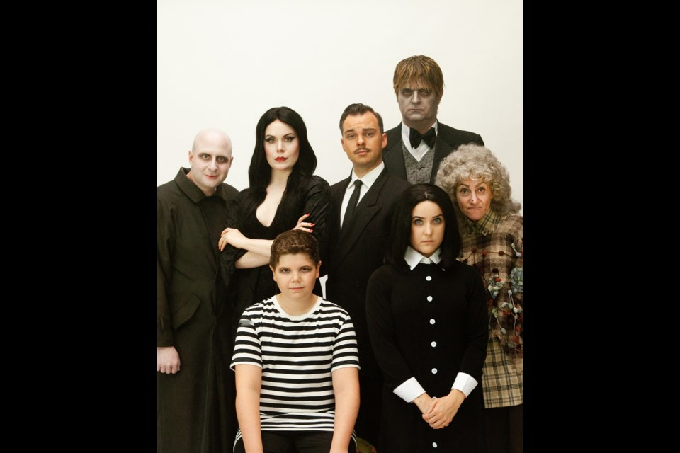 Yes, it's everyone's favourite family of darkness. The Addams Family, presented by Align Entertainment, is on stage Feb. 6 to 21 at the Michael J. Fox Theatre.