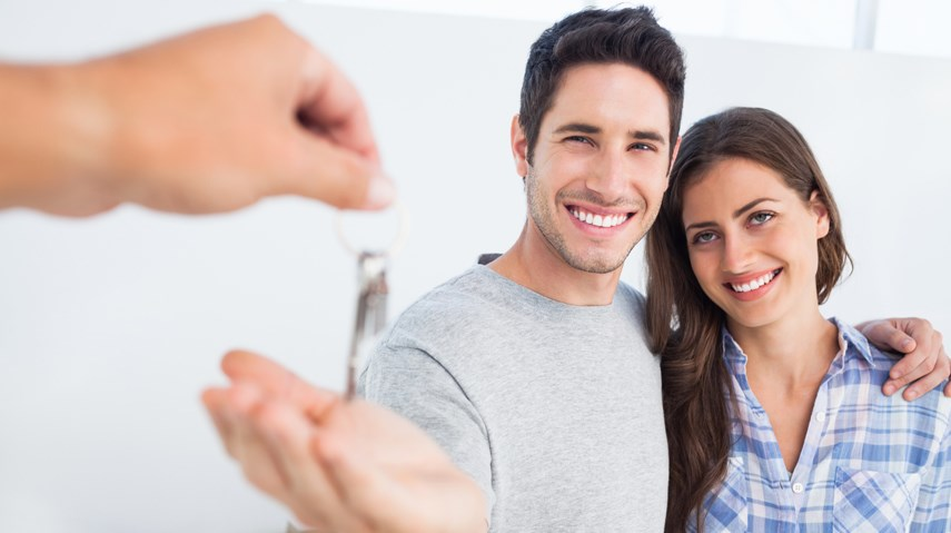 House keys first time home buyers