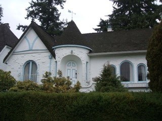 This Dunbar house was knocked down Saturday. Photo Caroline Adderson