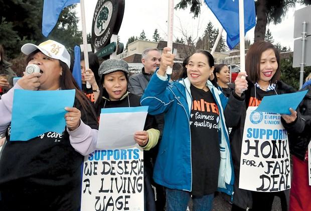 Inglewood protest