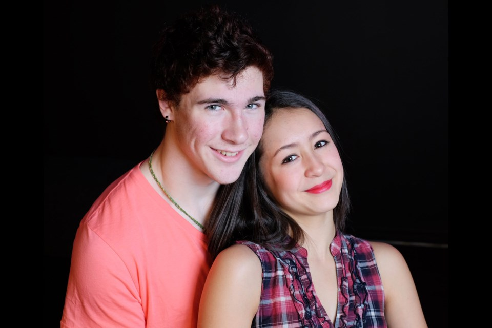 Noah Wright and Sarah Labrosse starred in the NWSS production of Footloose.