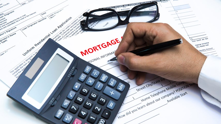 Mortgage application renewal signature