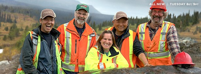 Richmond's Alan Qiao, second right, owns Dease Lake Jade Mines and will star in Discovery channel show Jade Fever
