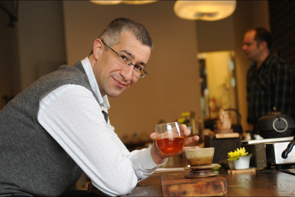 05 Rare Tea Bar's owner Pedro Villalon travels around the world in search of high quality, interesting teas.