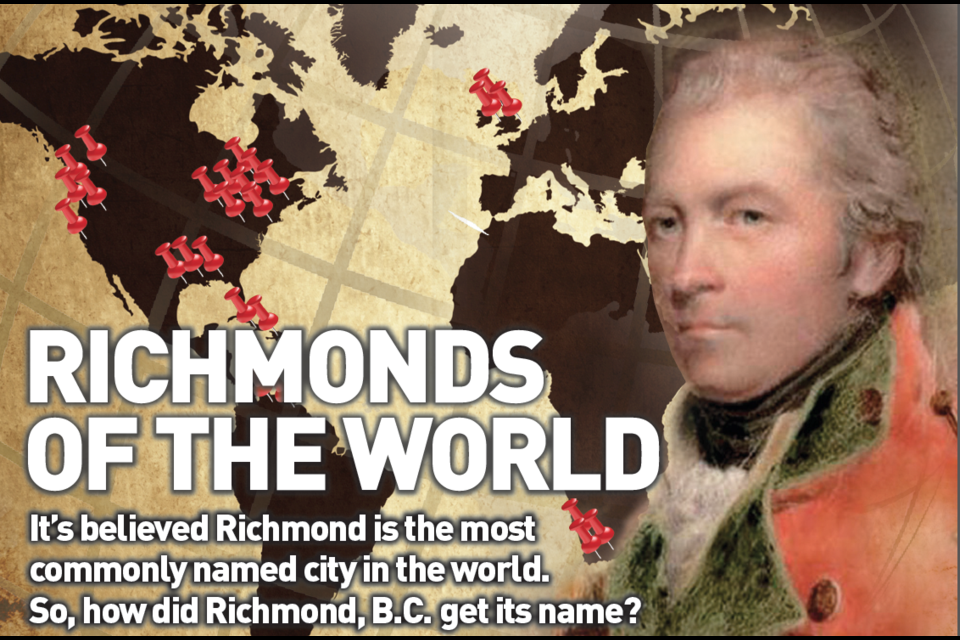 Richmonds of the World feature looks at a brief history of Richmond, Yorkshire and delves into a few theories as to how Richmond B.C. acquired its rather popular name.