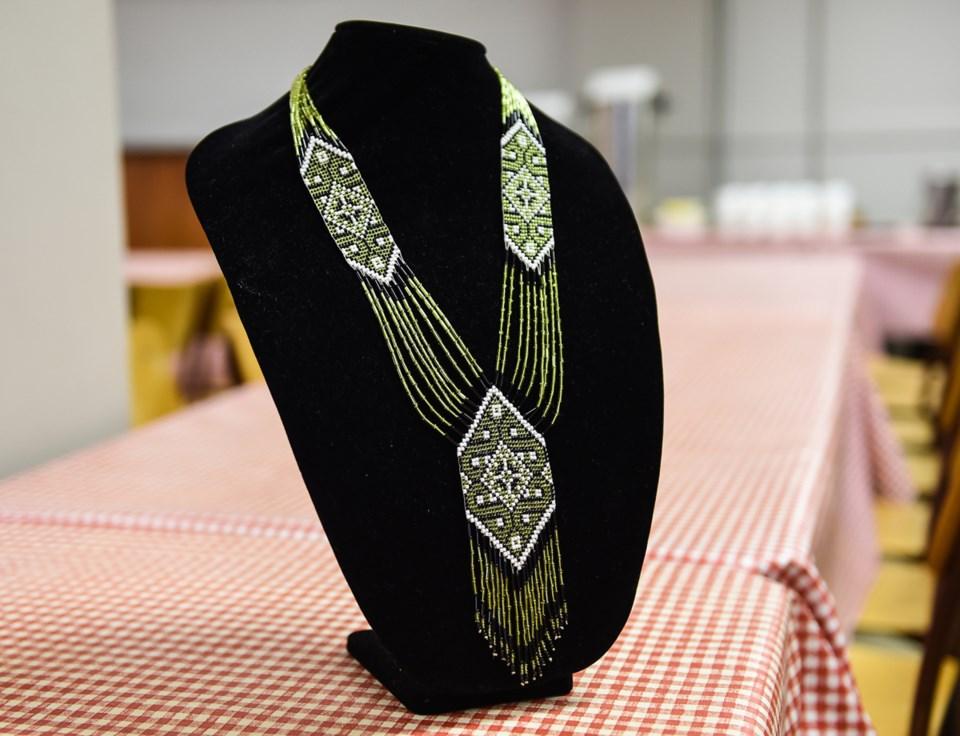 Traditional Ukrainian bead jewelry
