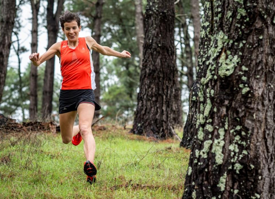 marathon running greenwood