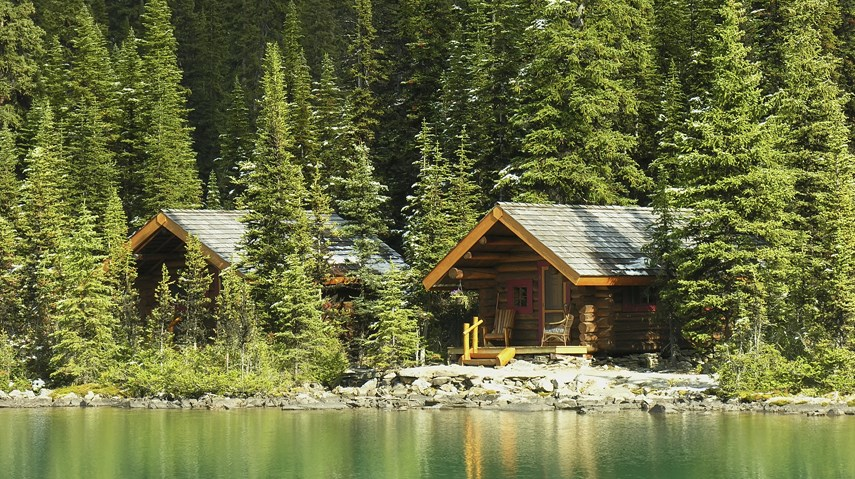 lakefront cabin recreational real estate property
