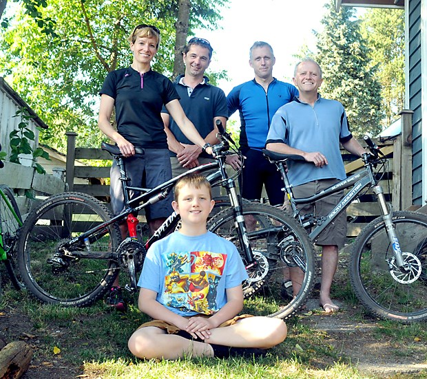 Team riding for autism