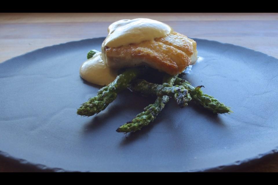 Chef Trevor Bird's halibut recipe is quintessentially Canadian.