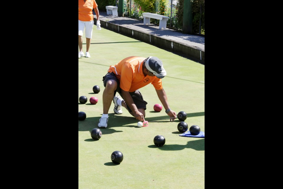 Photo by Lisa KingBC Day Lawn Bowling tourney New West and Richmond clubs