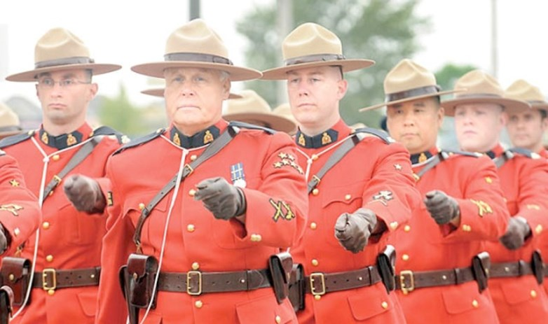 RCMP red surge