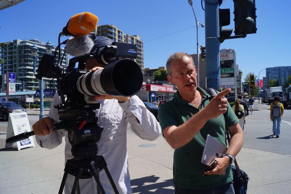 German film crew