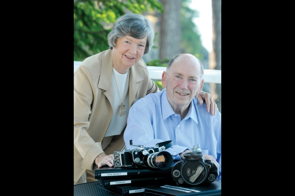 West Vancouver residents Vi and Bob Crone are legends in Canadian journalism, having filmed and photographed historical figures including gangster Lucky Luciano, author George Bernard Shaw, JFK, Winston Churchill, Fidel Castro and the pope.
