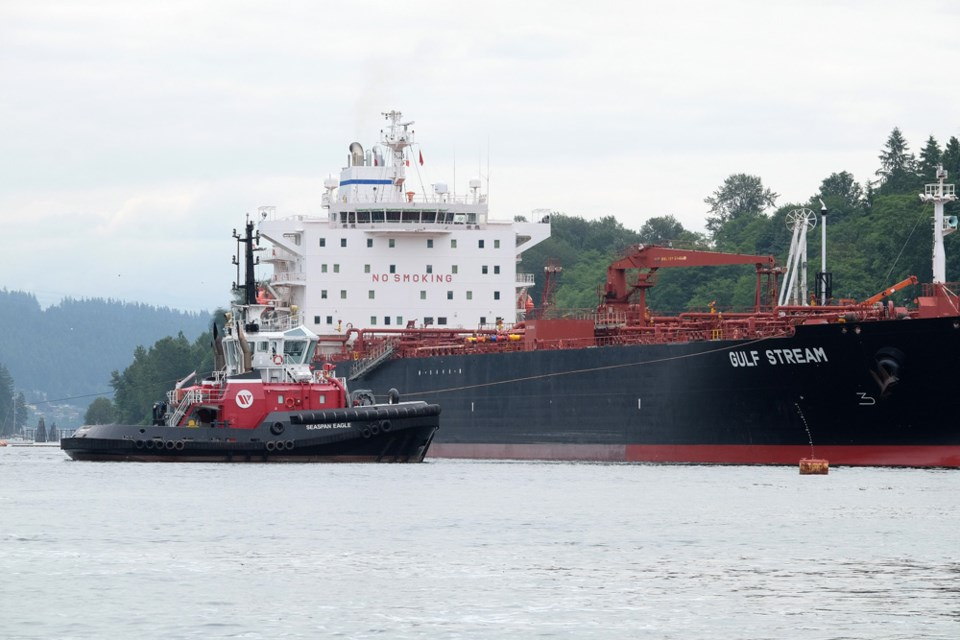 Westridge tanker